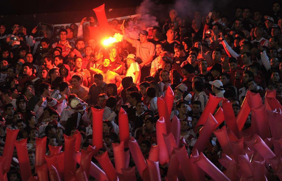 River Plate fans