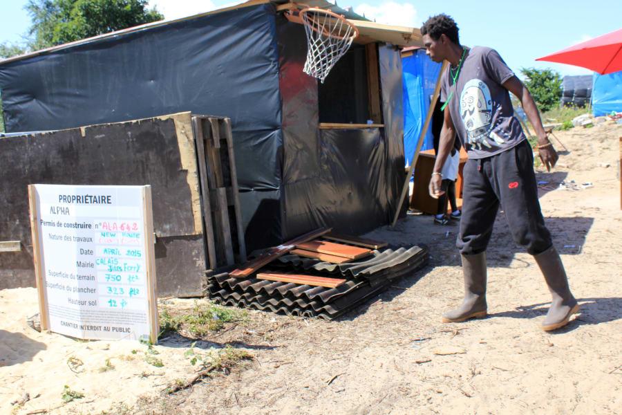 03 calais jungle refugee camp