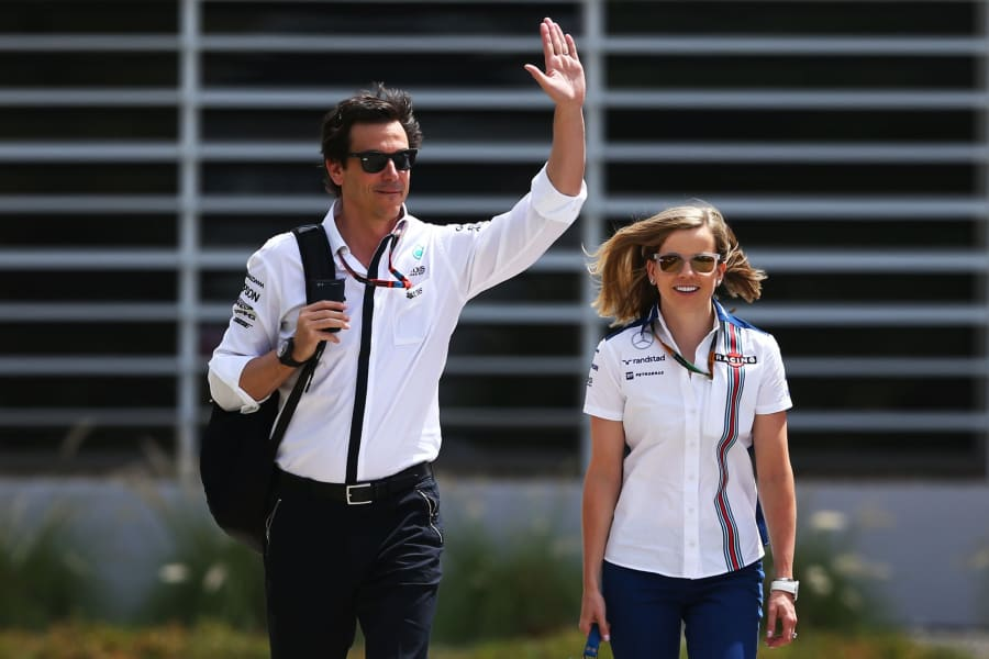 toto and susie wolff