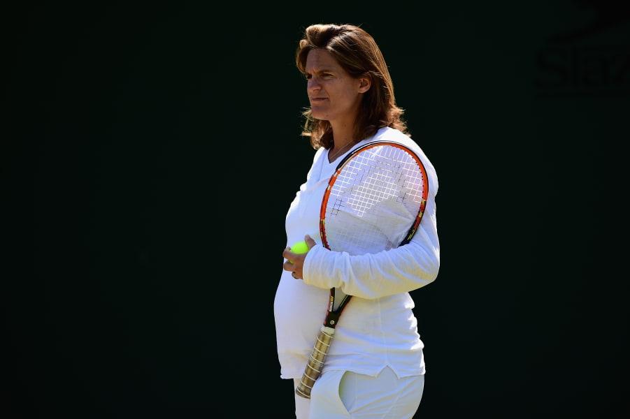 Amelie Mauresmo Pregnant