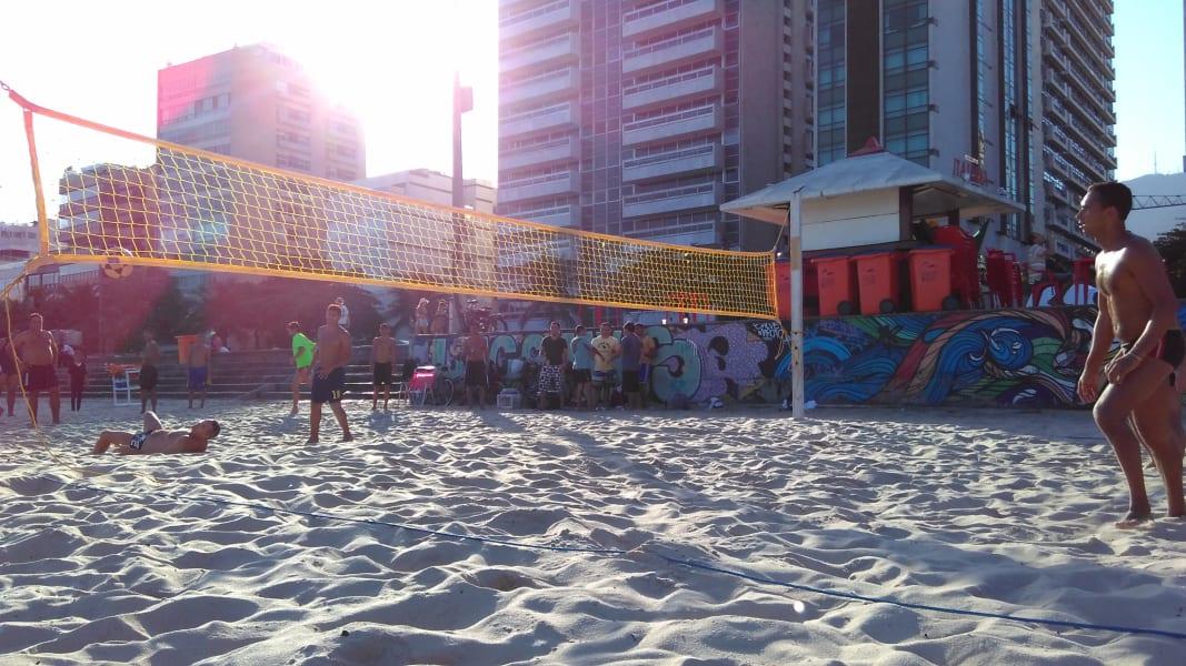 Rio Olympics footvolley
