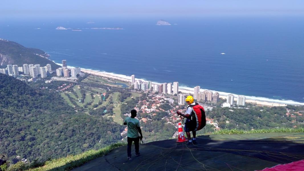 Rio Olympics hangliding