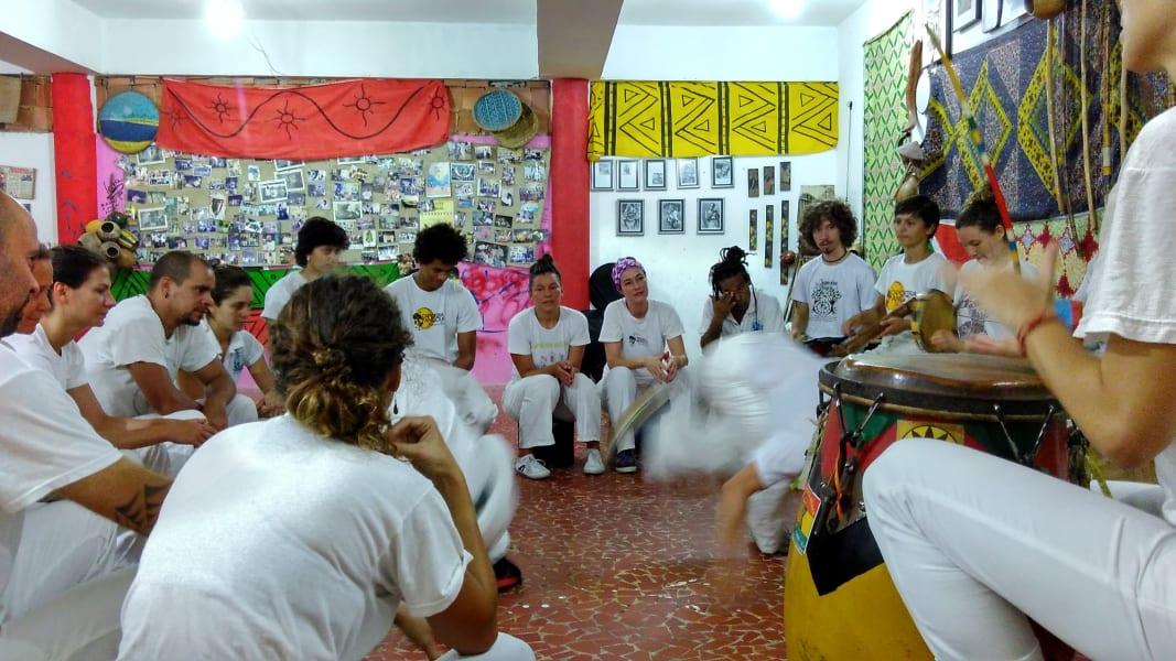 Rio Olympics capoeira