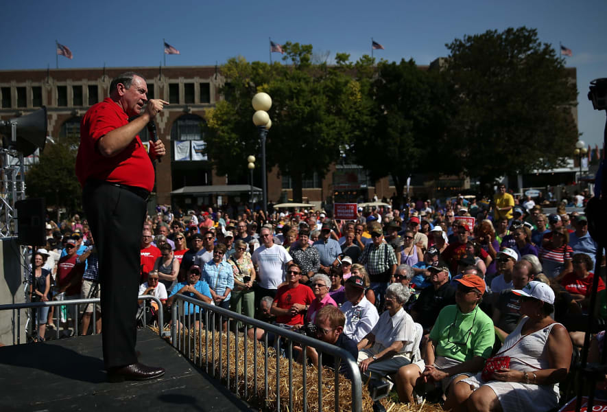 Mike Huckabee Iowa State Fair