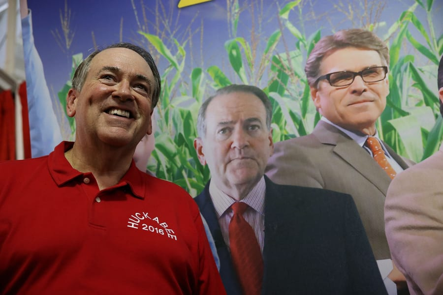 Huckabee Iowa State Fair 3