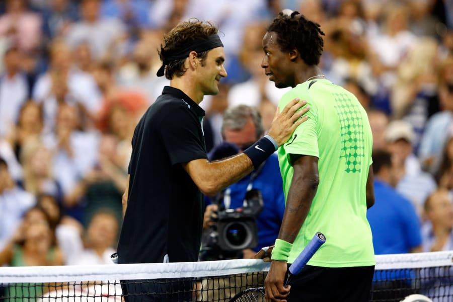 Monfils Federer