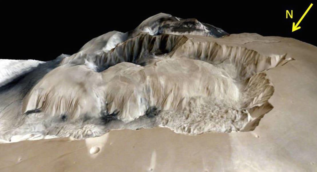 india mars orbiter Ophir Chasma terrain 03