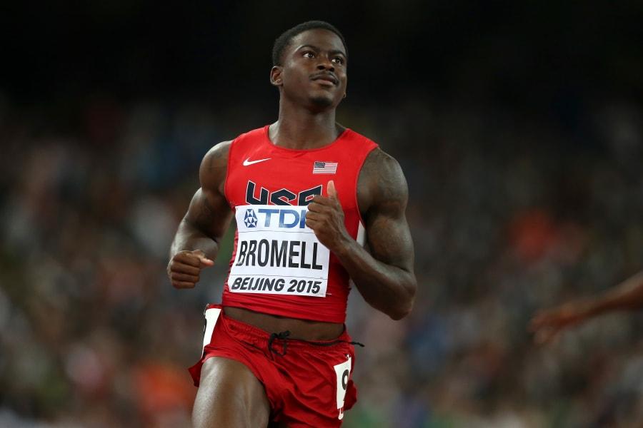 trayvon bromell 100m heats beijing