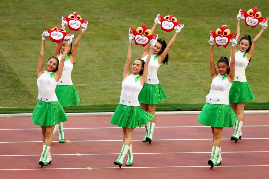 world championships beijing opening ceremony