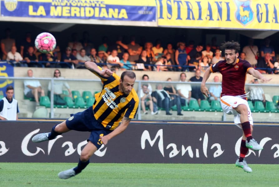 Alessandro Florenzi scores for roma