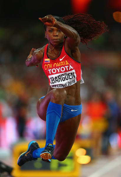Caterine Ibarguen triple jump