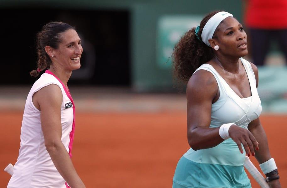 Serena loss Razzano