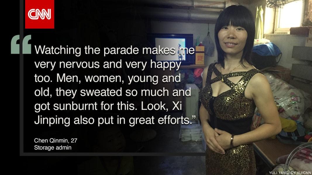 china parade quote chenqinmin