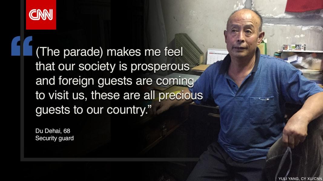 china parade quote dudehai