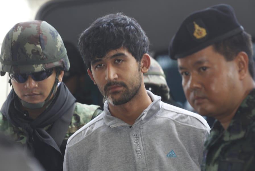 Thailand bomb suspect