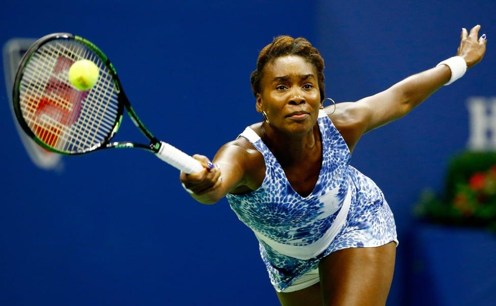 US Open day 9 Venus williams