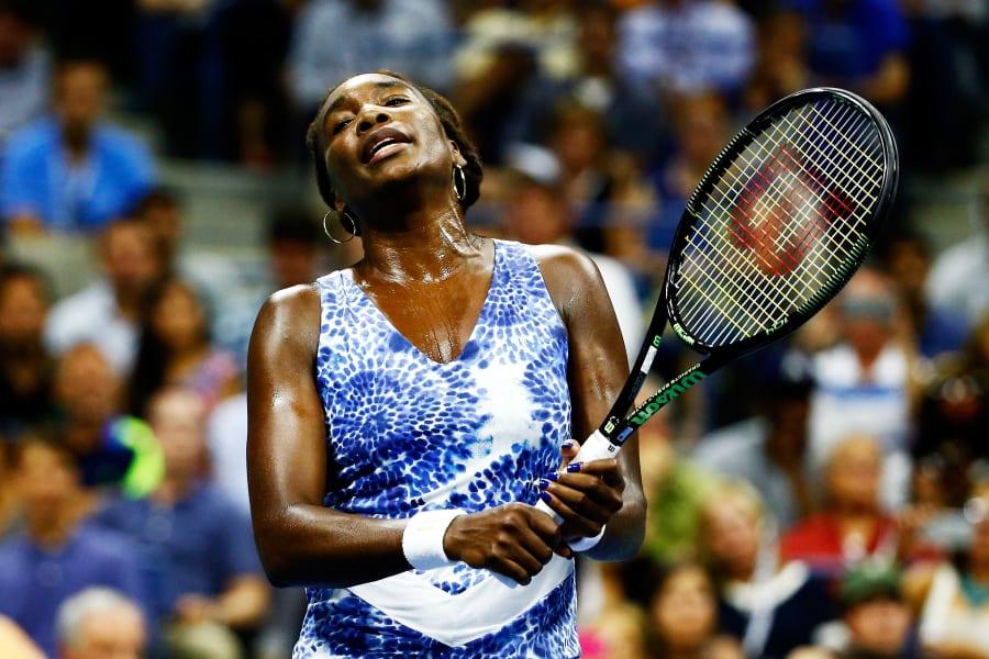 US Open day 9 Venus Williams 2