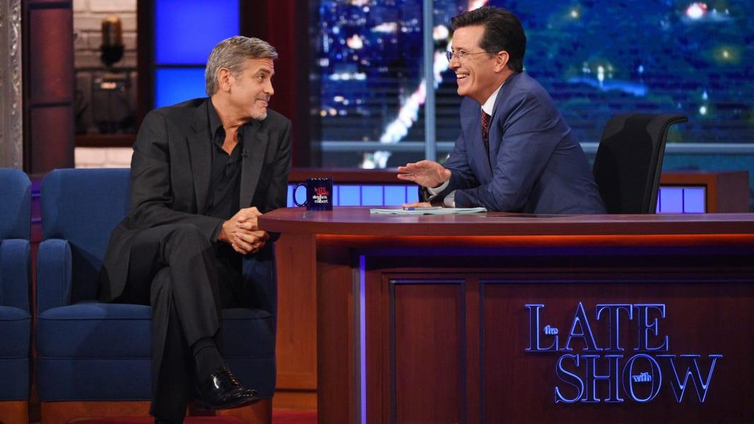 Late Show Colbert 0909