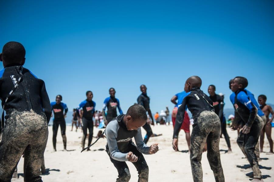 waves for change children beach