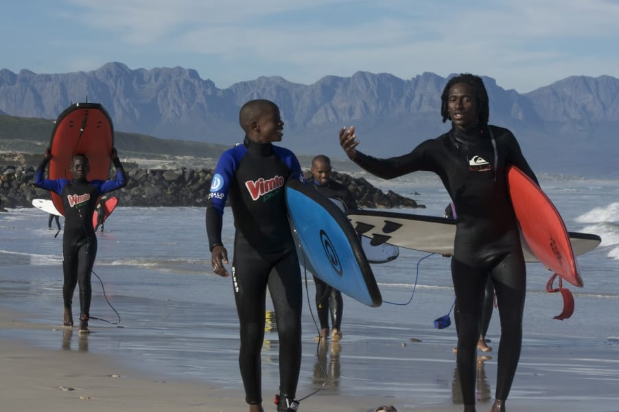 waves for change surfers mountains