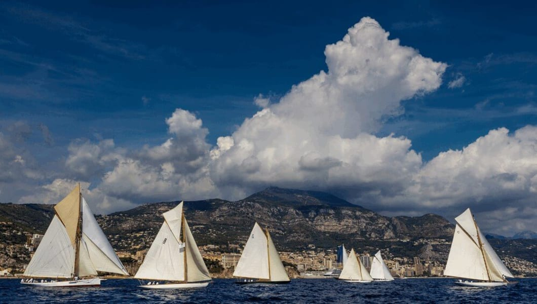 monaco classic weeks yachts sailing