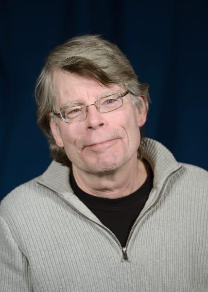 Stephen King hedshot
