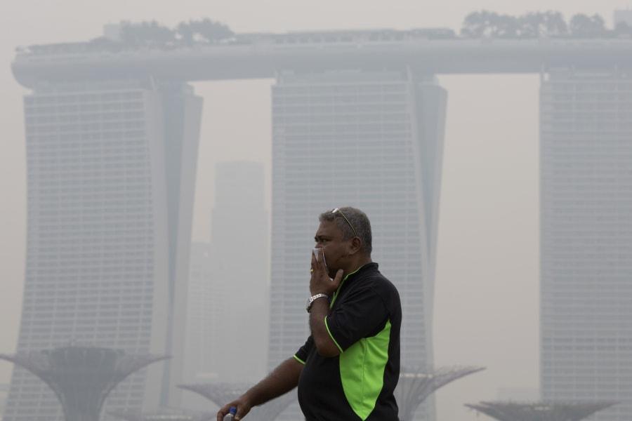 SE asia haze 0910