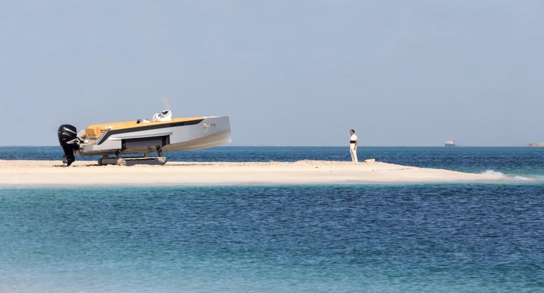 monaco yacht show iguana