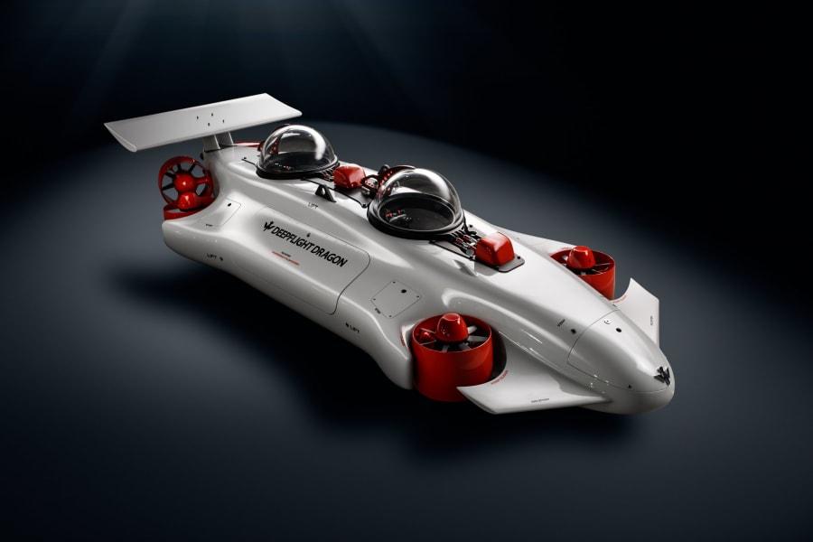 monaco yacht show deepflight