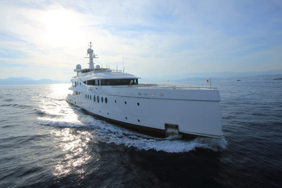 monaco yacht show amels