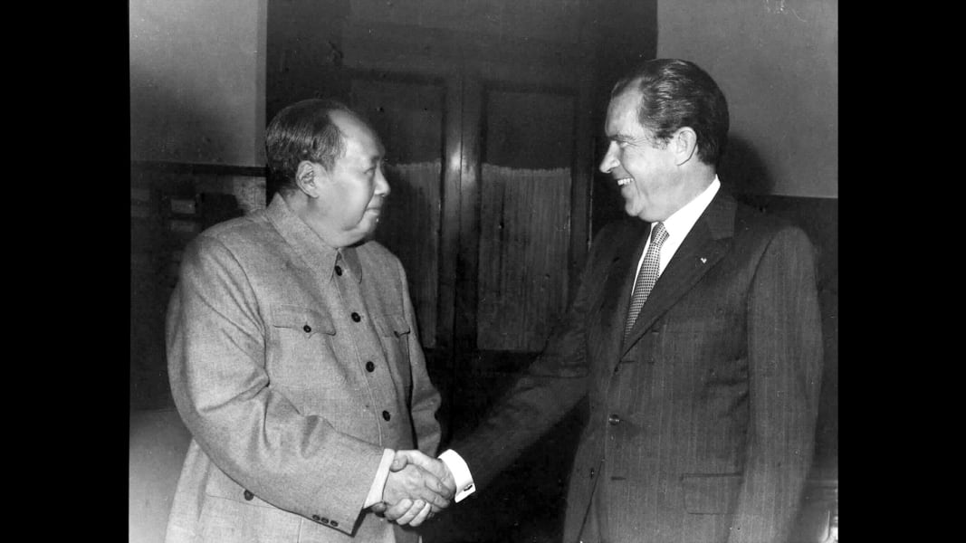 14 chinese leaders nixon zedong 1972 - RESTRICTED