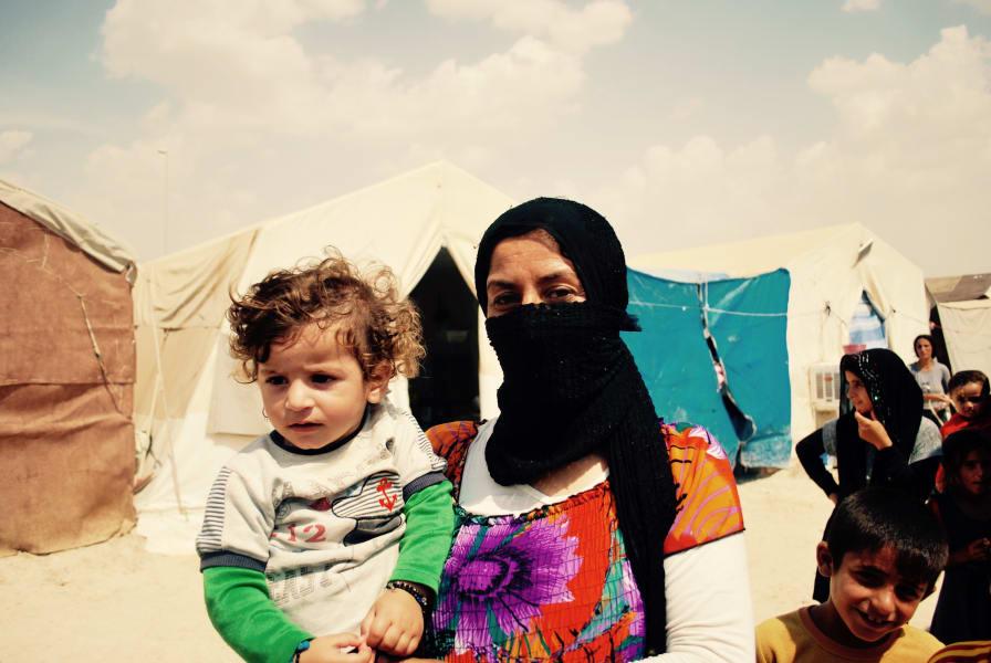 Yazidi Kid Gule and Rami - 1