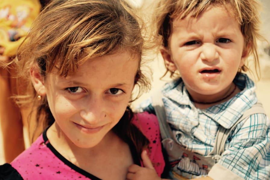 Yazidi Kid Katrine and Zimar - 1