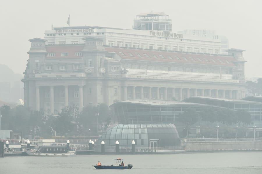 singapore haze fullerton 0924
