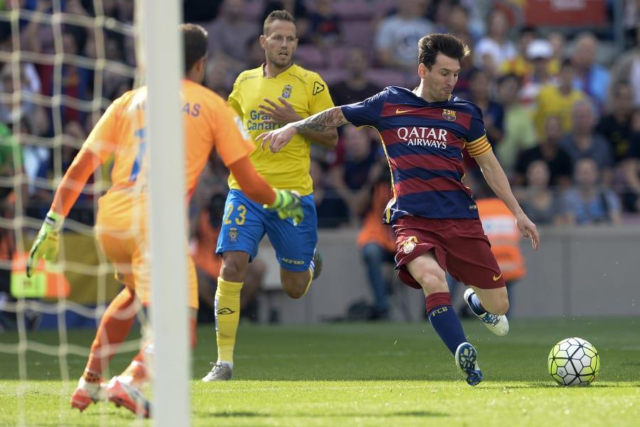 Messi shoots las palmas