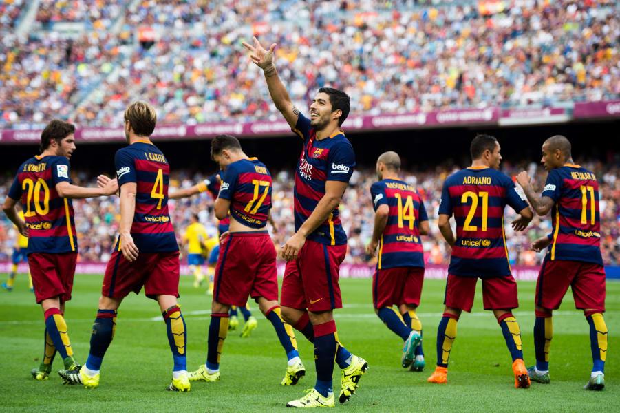 Luis Suarez barcelona las palmas