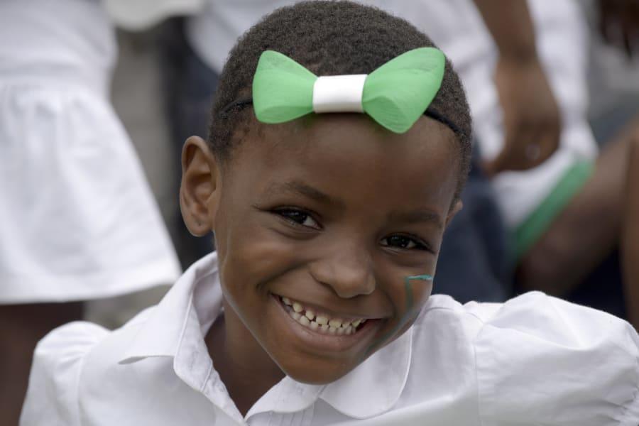 nigeria independence 2015 girl smiling