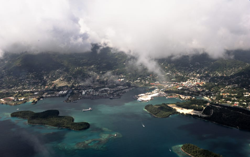 Mahe port seychelles