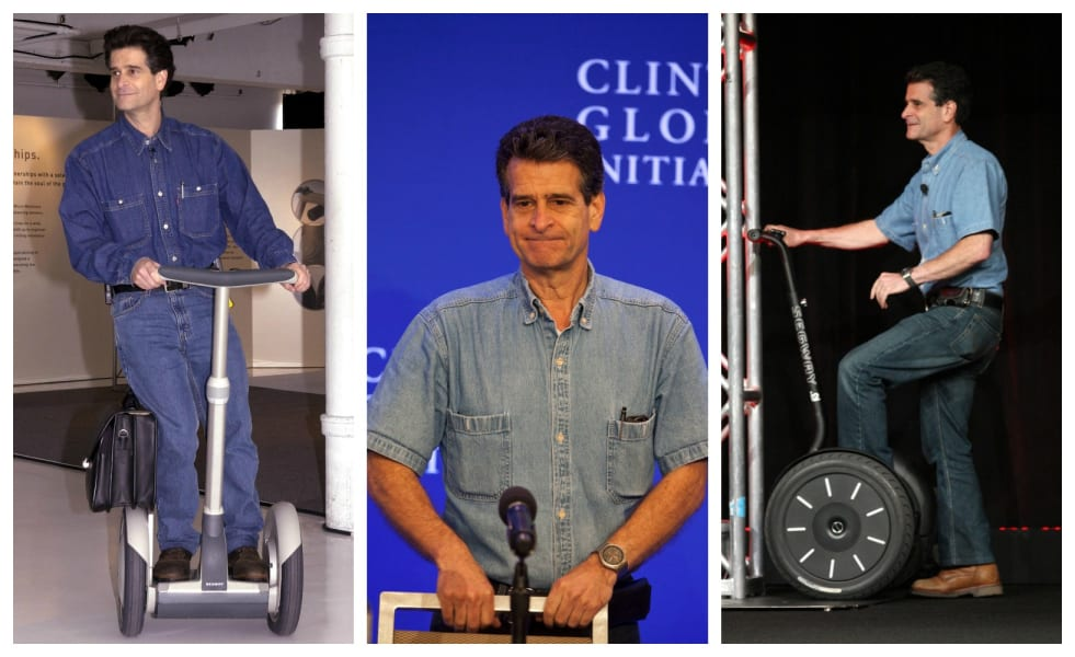 Dean Kamen same clothes