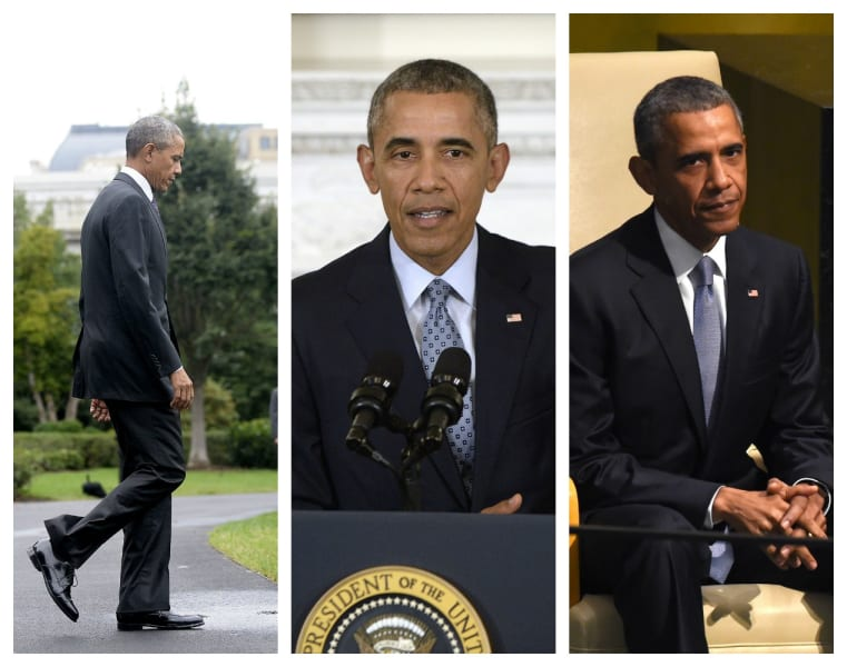 Obama same clothes