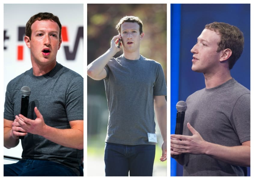 Mark Zuckerberg same clothes