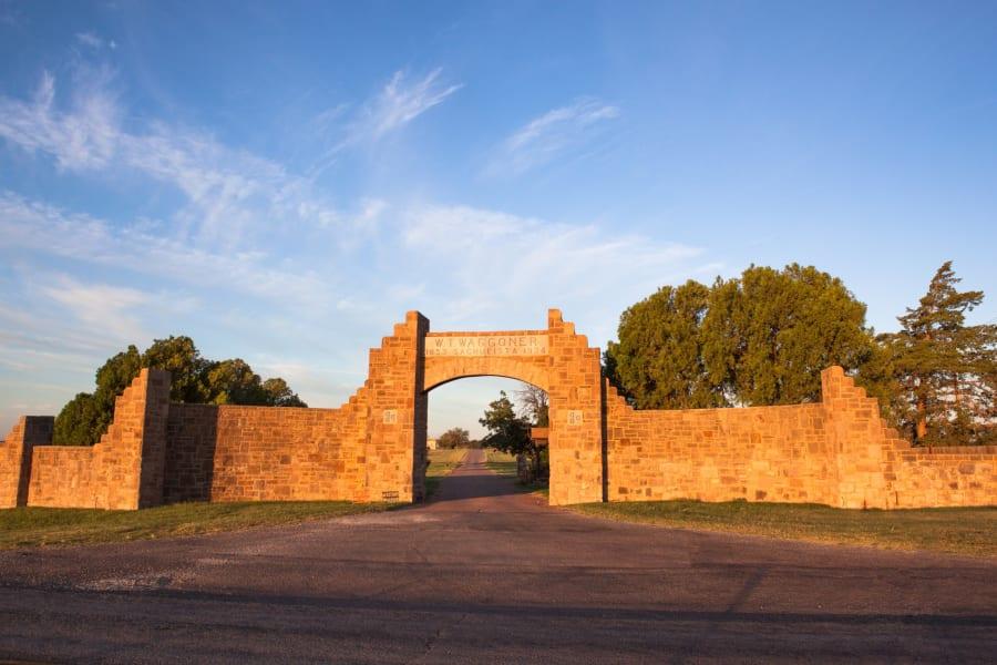 waggoner ranch entrance