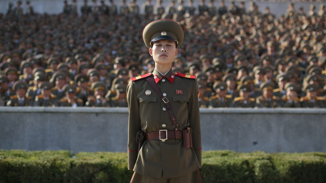 01 north korea military parade