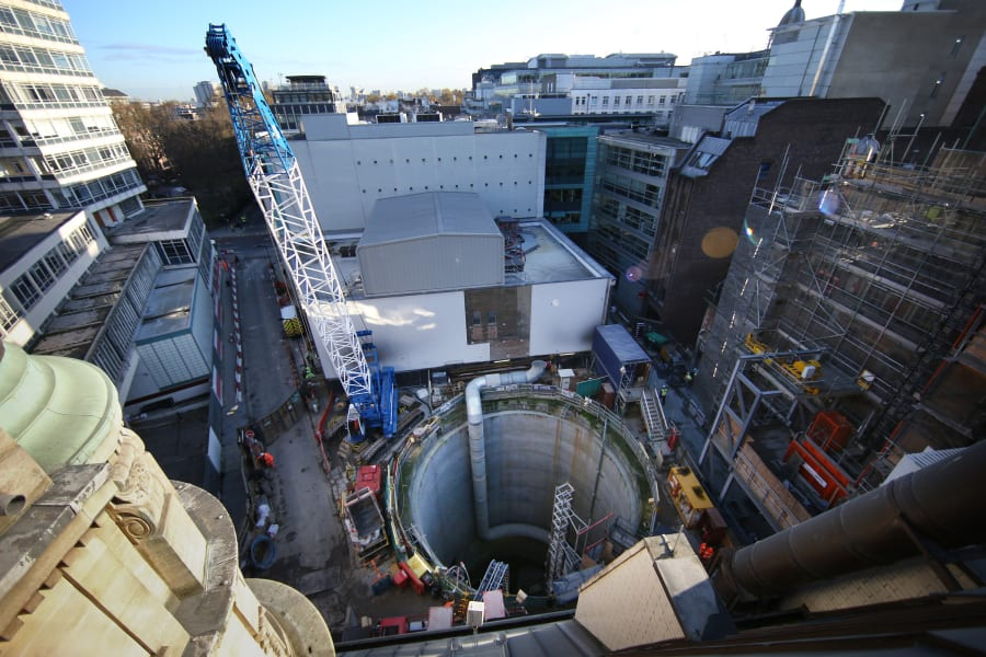 crossrail tunnel construction 3