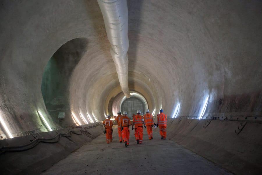 crossrail tunnel construction 9
