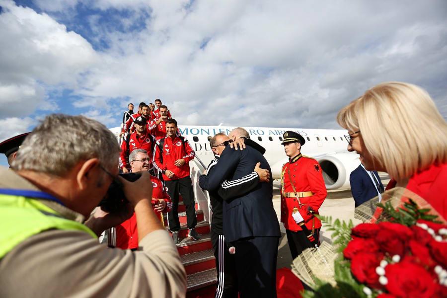 Albania landing
