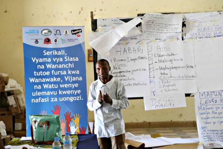 tanzania elections media training for women