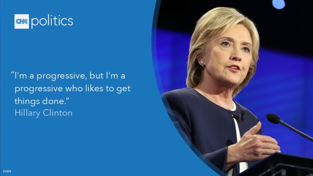 hillary clinton debate quote gfx