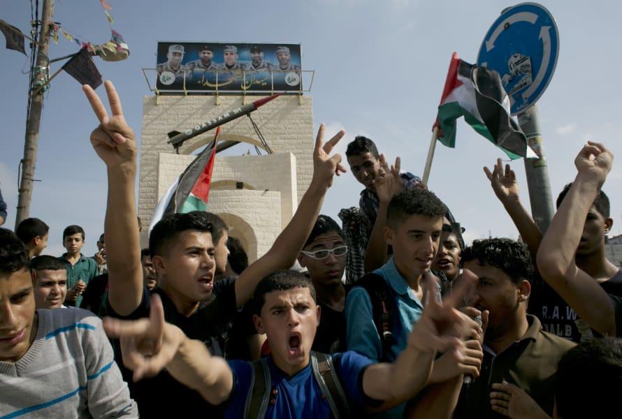 palestinian protest Rafah Oct13