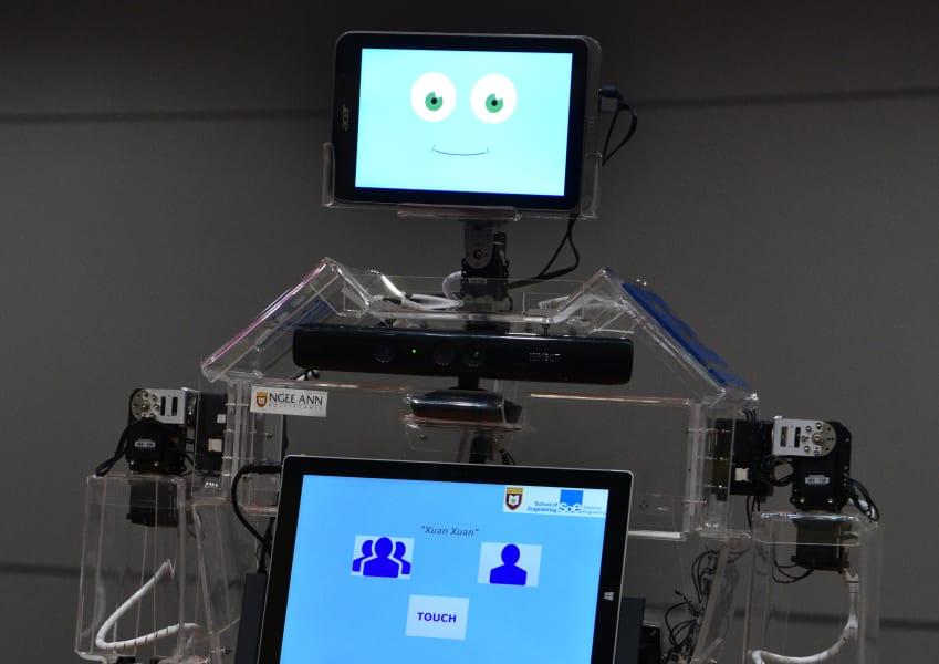 singapore robot elderly exercise 2